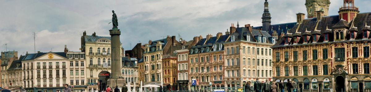 La Grande place de Lille Hallemichael Fiseha