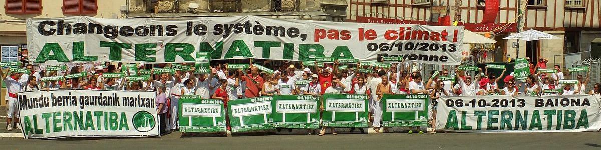 Alternatiba Bayonne 2013