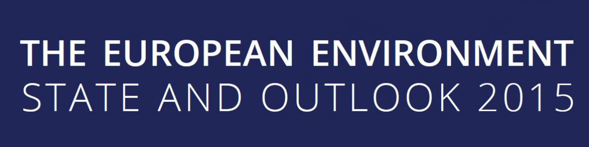European environment — state and outlook 2015 Banner