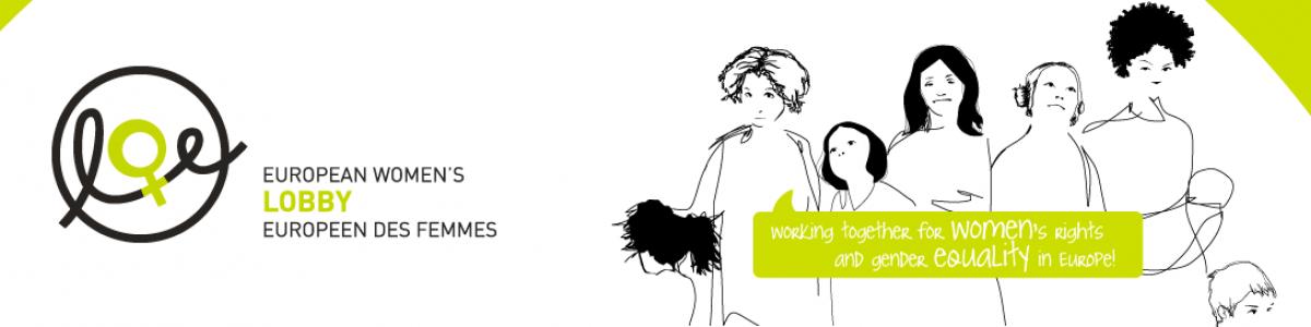 European Women Lobby Website banner