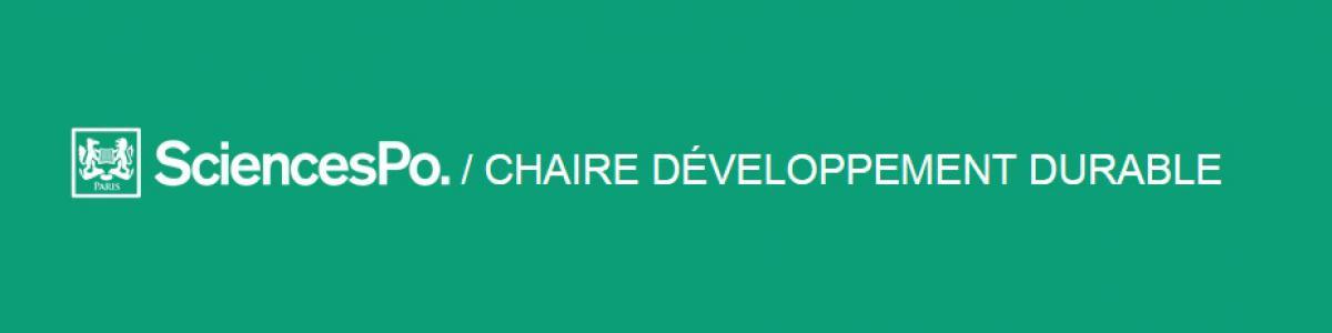 SCPO Chaire Développement Durable
