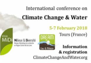Climate Change and water 2018