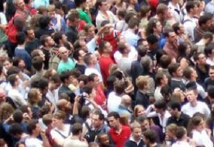Une foule