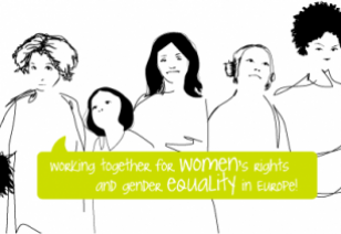 European Women Lobby Website banner