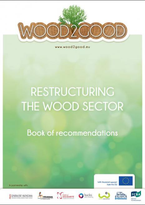 Cover Wood2Good Book of reco