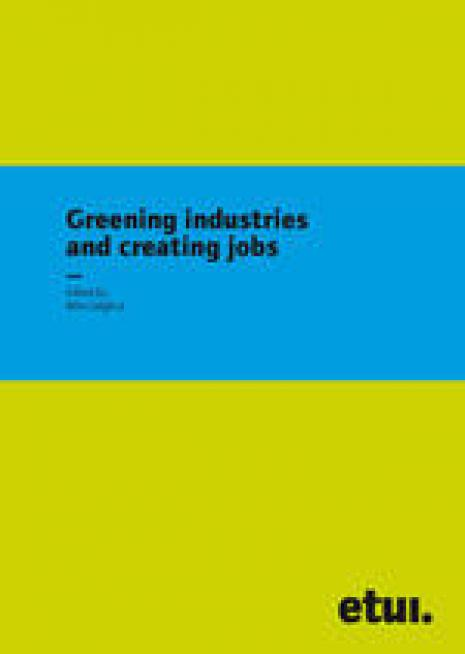 Greening industries and creating jobs