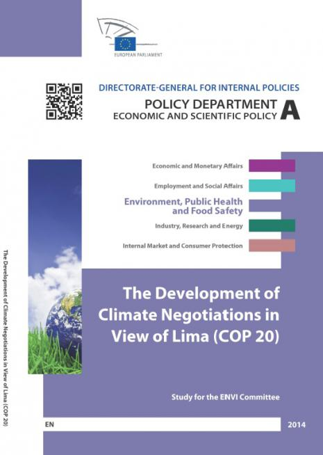 Development of climate negotiations COP20
