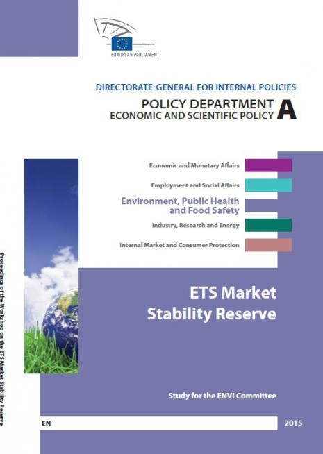 ETS Market stability reserve