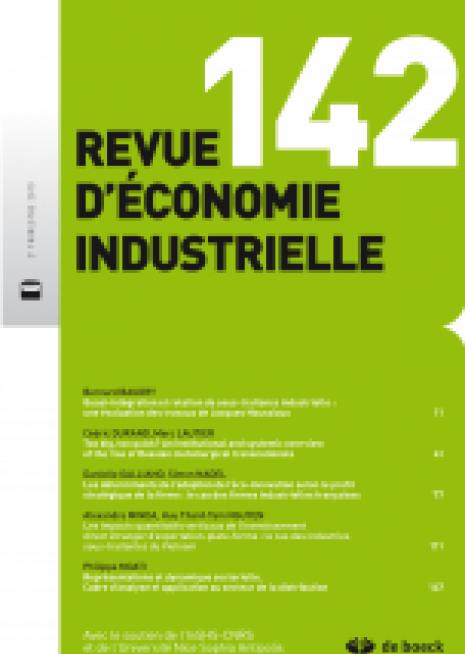 Adoption éco-innovations par les entreprises françaises